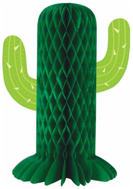 Cactus Honeycomb Centerpiece
