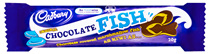 Cadbury chocolate fish 42 x 20g fish