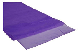 Cadbury Purple Table Runner