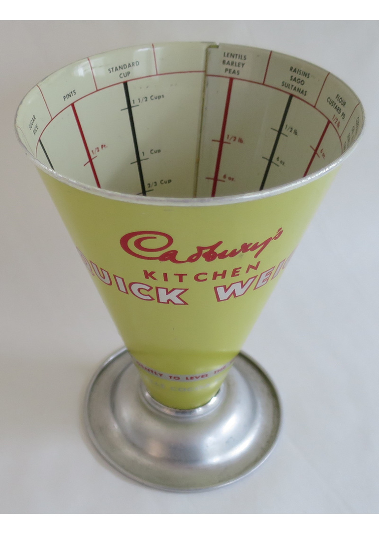 Cadbury quick weigh