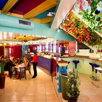 Caliente Restaurant & Bar . . .  Mexican in the City
