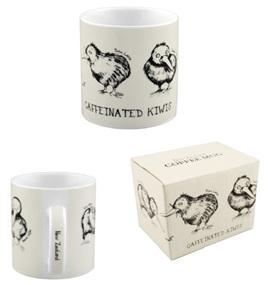 Caffeinated Kiwi Coffee Mug