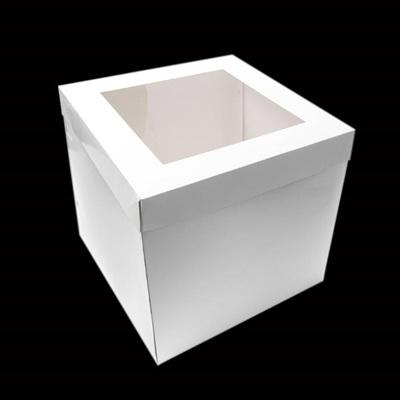 Cake Box Range - With Window Lid  (25cm  Tall)
