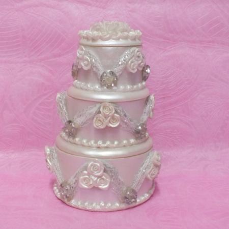 Cake Decoration trinket box 0607