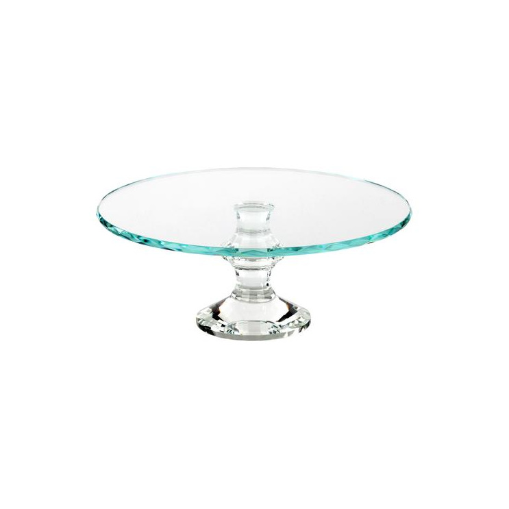 CAKE STAND CRYSTAL 10""