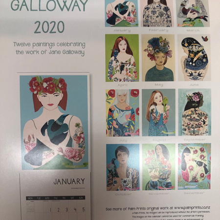 Calendar - Jane Galloway 2020