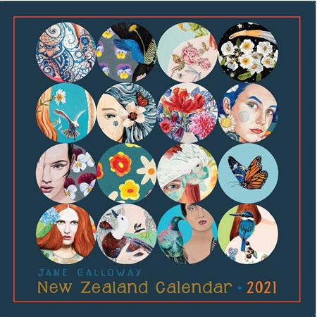 Calendar - Jane Galloway 2021