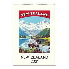 Calendar - New Zealand 2021
