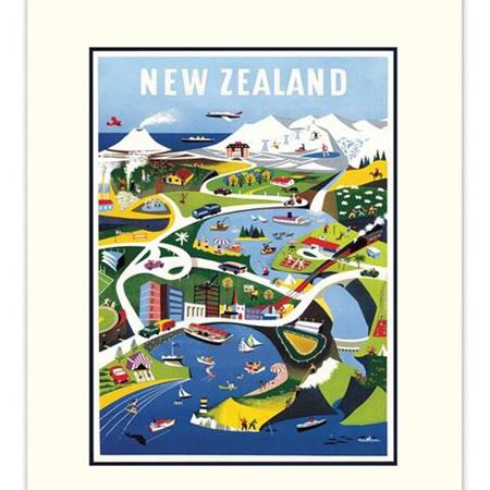 Calendar - New Zealand Vintage 2020