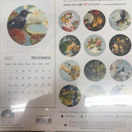 Calendar - Vintage NZ 2020
