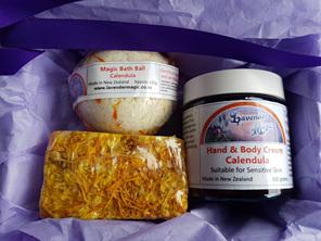 Calendula gift pack made in Carterton NZ