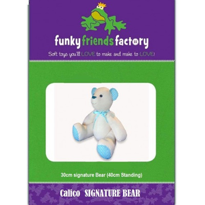 Calico  Signature Bear Pattern