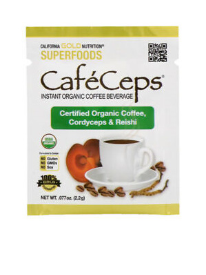 California Gold Nutrition Instant Organic Coffee