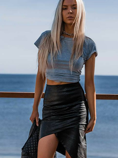 California Skirt Blk