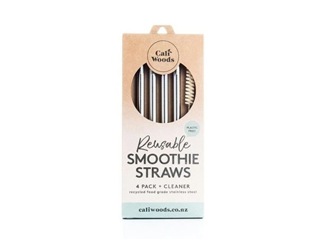 CaliWoods Smoothie Straw Pack