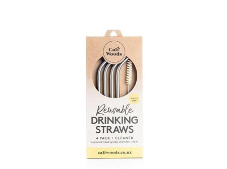 CaliWoods SS Drinking Straw Pack