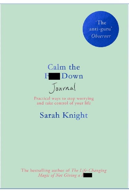 Calm the F**k Down Journal (pre-order)