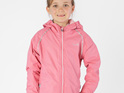 camellia pink rain winter cold jacket kids adventures nature play nz