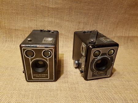 Camera Box Brownie