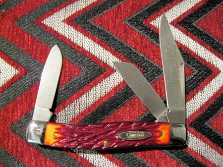 Camillus 3 Blade Roughcut Stockman (NG920)
