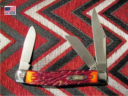 Camillus 3 Blade Roughcut Stockman (NG921)