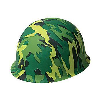 Camo hat - plastic