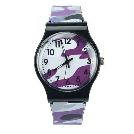 CAMO KIDS WATCH - Purple