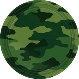 Camo plates pack 8