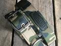 Camouflage Heavy Duty Slimline Dog Collar by Rogue Royalty