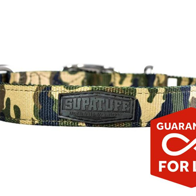 Rogue Royalty SupaTuff Militia Slimline Collar