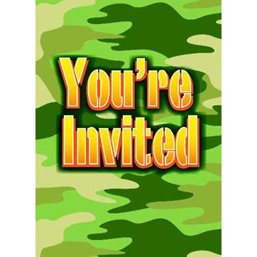 Camouflage Party Range