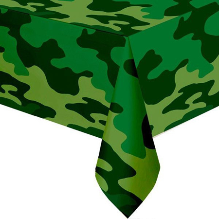 Camouflage  Party Tablecover