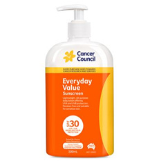 CANCER COUNCIL EVERYDAY PUMP SPF 30+ 500ML
