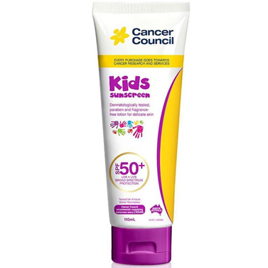 CANCER COUNCIL KIDS SPF 50+ 110ML