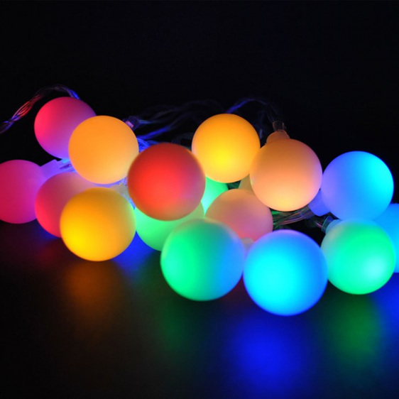 Led Lights Rainbow: Candy Ball Fairy Lights 10m
