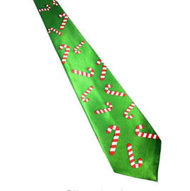 CANDY CANE CHRISTMAS NOLVETY TIE