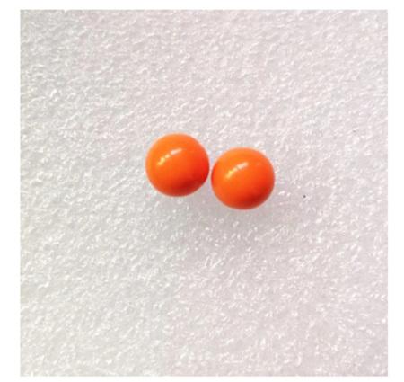 Candy Pearl Earrings - ORANGE