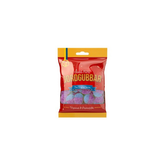 Candy People Jordgubbar Sour Gums 80g