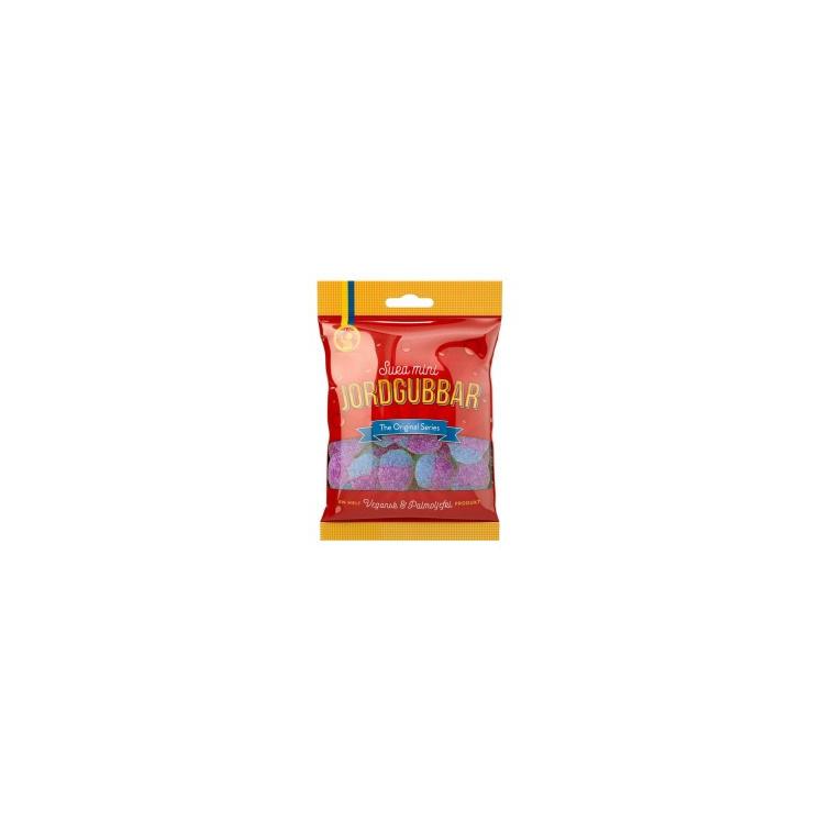 Candy People Jordgubbar Sour Gums 80g
