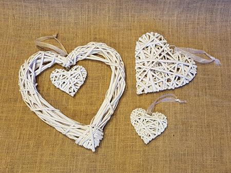 Cane Heart Large 30cm