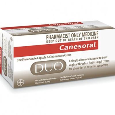 Canesoral Duo (Capsule plus Cream)