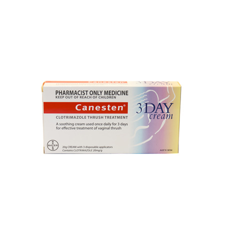 Canesten 3-Day Vaginal Cream