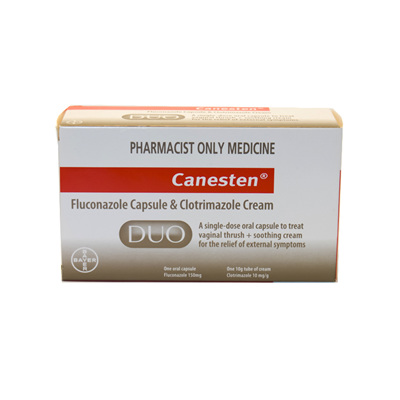 Canesten Duo (Capsule plus Cream)