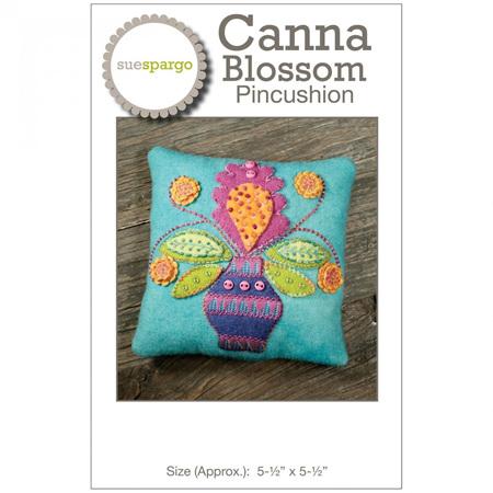 Canna Blossom Pincushion