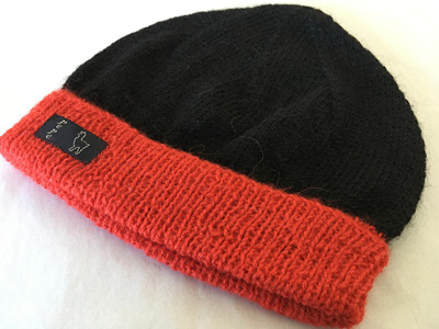 Cantab Knitted Hat 4 Ply 100% Alpaca