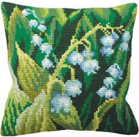Canvas Cushion Kit - Lily of the Valley   (CDA5120)