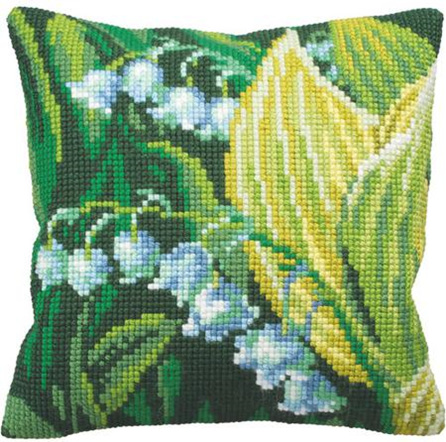 Canvas Cushion Kit - Lily of the Valley   (CDA5121)