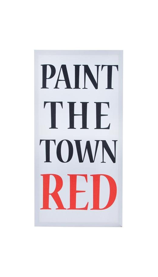 Canvas - Paint the Town RED
