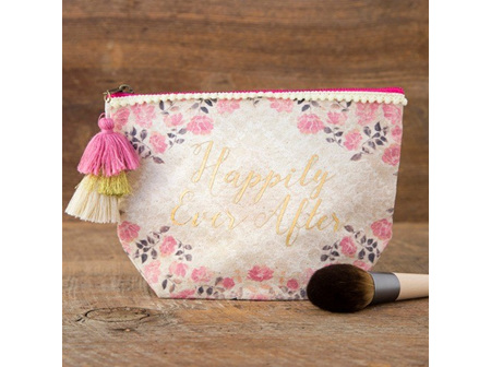 Canvas Pouch Happily Ever After