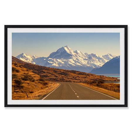 Canvas Rustic South Framed Print 90x60cm